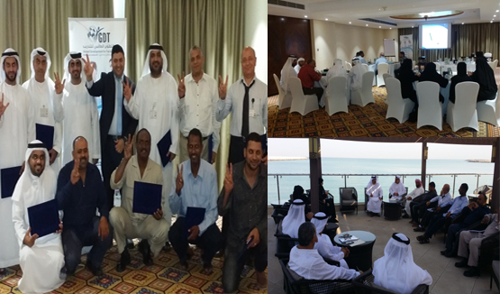 Graduation of training program at one of Ras Al Kamiah Resorts in the United Arab Emirates
